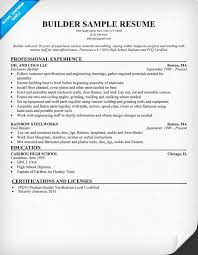 My Resume Builder Unique Resume Builders