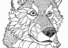 Wolf Coloring Pages For Adults Wolf Coloring Page Zabelyesayancom