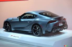 Montreal 2019 Canadian Debut For The 2020 Toyota Supra