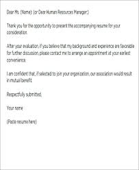 Short Story Cover Letter Template Email Letters 9 Free Word Format