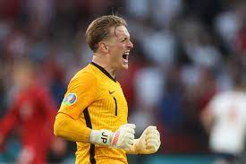 Englands Torwart Jordan Pickford stellt im EM-Halbfinale Rekord auf