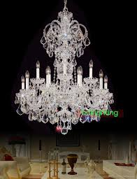 modern big chandelier lamps european candle chandeliers versailles lights home lighting decoration bohemian crystal chandelier with crystals restaurant