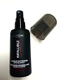 loreal paris infallible pro stay makeup setting spray