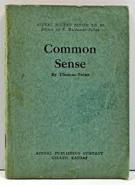 thomas paine common sense essay iplan african slavery in america  thomas paine paine thomas common sense appeal pocket series no 50
