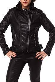 alaia wonder woman leather jacket
