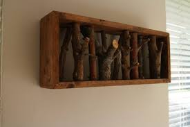 Rustic Coat Rack Adorable Rustic Coat Rack By Melchi LumberJocks Woodworking Community
