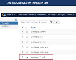 Online Quiz Templates Joomla Quiz Deluxe Release New Template and Multiple Improvements 18
