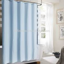 hotel shower curtain with various color size