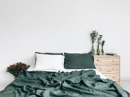 all our bedding s are made from medium weight 100 pure european oeko tex certified linen free of harmful chemicals