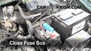 replace a fuse 1999 2002 nissan quest 1999 nissan quest gxe 3 3l v6 1999 Nissan Quest Fuse Box Diagram 6 replace cover secure the cover and test component 1999 Mercury Grand Marquis Fuse Box Diagram