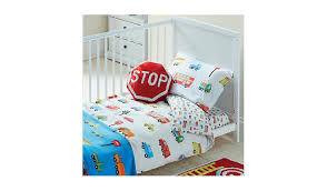 toddler bedding sets asda unique blue transport toddler duvet set baby bedding george at asda