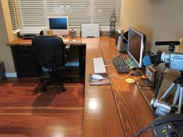 diy desk cost. DIY Corner Desk With File Cabinet Support: The Lumber And All Supplies Cost Under Diy N