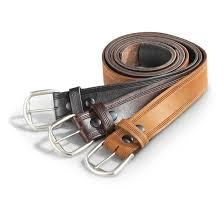 guide gear men s 1 75 leather work belt black brown boot tan