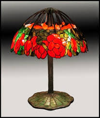 when considering ing an authentic tiffany lamp learn to look closely for prior restorations or other things not right such as