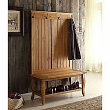 entry way furniture. image of santa fe hall tree in antique pine entry way furniture