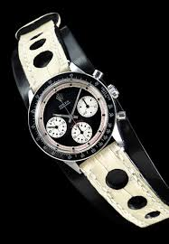 two piece leather watch strap