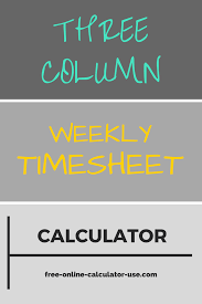 New Simple Timesheet Template - Your Template Collection | Your ...