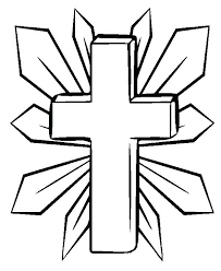 Free Cross Coloring Pages Trustbanksurinamecom