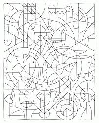 The free coloring pages for adults are tried & true are a little different from the other coloring sheets on this list. Difficult Color By Number Printables Coloring Home