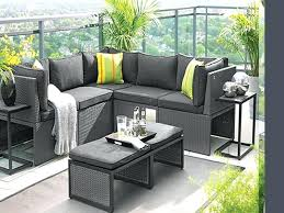 apartment patio furniture. Outdoor Furniture For Small Balcony Luxury Design Apartment Patio Grey Rectangle