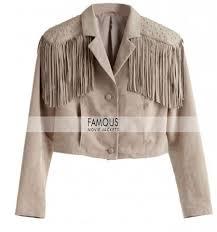 home leather jacketswomen jacketsferris bueller s day off sloane peterson fringe jacket previous