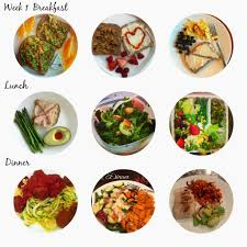 Planned Meals For A Week Lose The Baby Weight And Clean Eating Week 1 Thats So Michelle