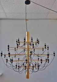 gino sarfatti model no 2097 50 chandelier