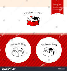 book publishing templates childrens book publishing logo template bookstore stock vector