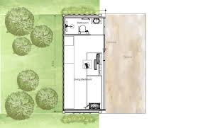 small 20 ft conner house plan