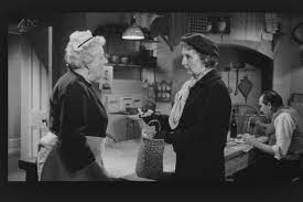Margaret Rutherford and Joan Hickman. Who knew then she would play Mrs  Marple later in life too!   Agatha christie, Dame margaret rutherford, Miss  marple