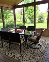 screen porch furniture ideas. Screened Porch Decorating Ideas | Home \u0026amp; Plate Www.homeandplate.com Screen Furniture L