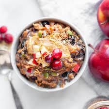 easy overnight crockpot oatmeal with