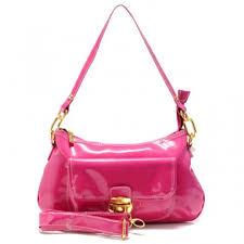 Coach Kristin Colorblock Medium Pink Shoulder Bags Z8816
