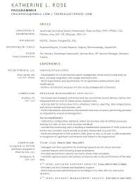 Cognos Sample Resume