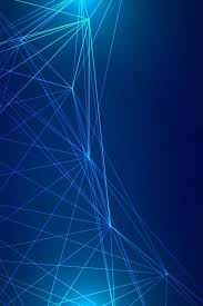 technology lines and blue background hd