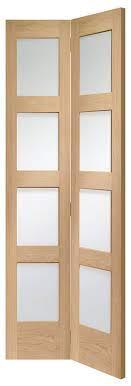 oak shaker internal bifold doors