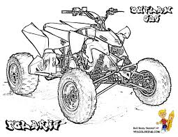 four wheeler coloring pages. Delighful Wheeler Four Wheeler Coloring Pages Intended Pinterest