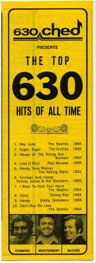 630 Ched Presents The Top 630 Hits Of All Time Am Radio