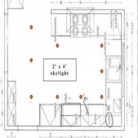 kitchen lighting layout. Recessed Lighting Layout Galley Kitchen A