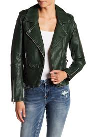 image of blanknyc easy rider faux leather moto jacket