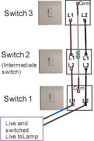 three way light switching