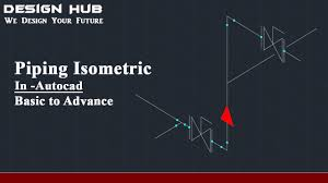Isometric Pipe Design How To Draw Piping Isometrics In Autocad Autocad Tutorial