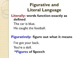literal language ppt figurative language powerpoint presentation id 2451484