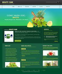Css Website Templates Gorgeous Full Css Website Templates For Beauty Care Centers Css Website