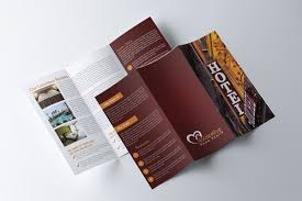 Hotel Brochure Designs 015 Template Ideas Trifold3