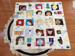 IMG_1130 | Disney quilt, Princess disney and Fandom & Paper piecing Princess Disney quilt photo only Princess patterns on fandom  in stitches Adamdwight.com