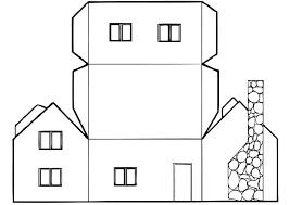 Casa Da Stampare Colorare Ritagliare E Costruire Giochi Didattici