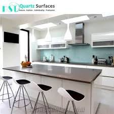 chinese heat resistant grey quartz countertops