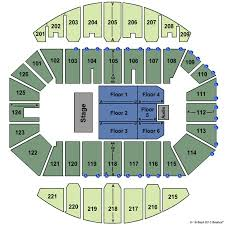 Crown Center Of Cumberland County Seating Chart Crown Coliseum The Crown Center Tickets In Fayetteville