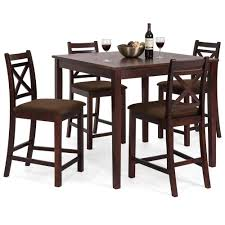 square dining table sets. 5-Piece Square Dining Table Set W/ 4 Chairs - Espresso Sets B